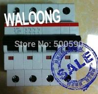 TNT Free Shipping ABB Circuit Breaker S204-C20  20A 4P 4pole Miniature circuit breaker 3pcs/lot