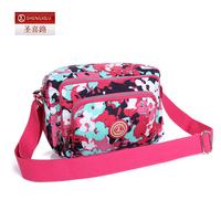 Nylon shoulder bag women's handbag color block small bag casual cross-body bag outdoor sports bag 0917