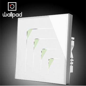 Настенный переключатель Happy-Home Wallpad 4 2 110V 220V, 86