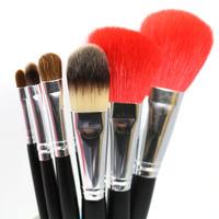 Professional Makeup Brush Set 6pcs Nature Goat Hair Makeup Tools Kit Premium Quality
