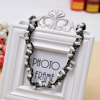 Hot Korean Fashion Women Girl Rhinestone Pearl handmade hair Accessories Headband Jewelry Lovely Style For Party Gift