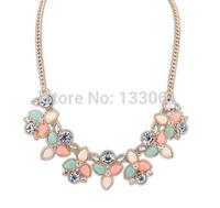 European wild new fresh sweet acrylic necklace 3 pieces one lot SC-2