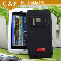 Original Brand XMART Wizard Silicone Case For Nokia N8 New Protective Case 4 Colors Choose +Free shipping