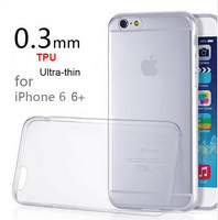 $ buy 3 get 5 $1PC Ultra-Thin 0.3MM Cover/Case For Apple iPhone 6 Cases For iPhone 6 4.7 TPU Material clear real photo