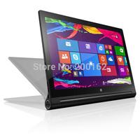 """YOGA Tablet PC 2 Win8.1 13""""-64GB-WiFi 13.3 inches Intel Z3745 quad core 1.86GHz 4GB/ 64GB bluetooth Micro-SD Micro-HDMI 12800mAh"""