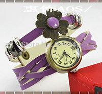 Free shipping 2015 fashion casual 2pcs creative bracelet watch diamond Wristwatches 10 colors--ews