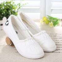 summer Comfortable casual flat  canvas shoes women's shoes single shoes 1066 US 4.5-8.5 size