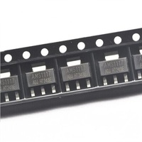 AMS1117 ADJ Spannungsregler Low Drop SOT-223 SMD IC