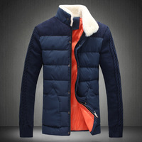 Free shipping famous brand plus size XXL 4xl 5xl 6xl winter men Winter stand fur collar down coat wadded man jacket clothing