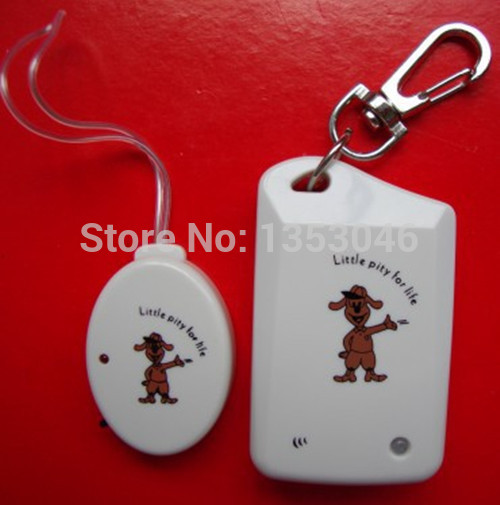 Anti-lost Reminder Alarm Bell system security personal guard for Child pet bag mobile luggage(white)(China (Mainland))