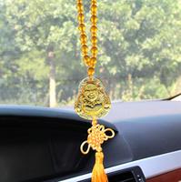 Imitation glass Buddha Buddha pendant upscale automobile safety glass ornaments  Motorcycles Interior Accessories Ornaments