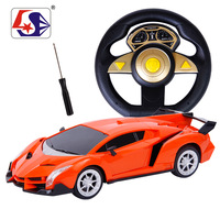 Free shipping Electric remote control  steering wheel Cars Drive Trucks Speed Radio Control Rc car charge  Super Power to Run