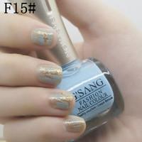 wholesale 2pcs famous china gsang brand crack nail polish F15# be mixed glaze nail lacquer shatter crack colors nail polish bulk