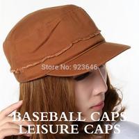 new fashing  male Female flat hat casual  Baseball cap leisure cap outdoors sun hat casquette