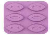 6 Football  Shaped Silicone Chocolate Mold  cake tools Fondant Cake Decoration Tools free shipping
