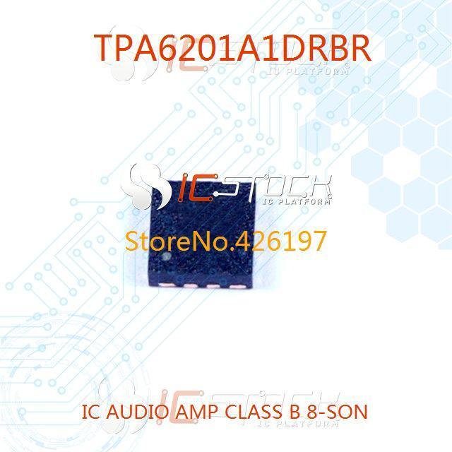 TPA6201A1DRBR IC AUDIO AMP CLASS B 8-SON 6201 TPA6201 3pcs(China (Mainland))