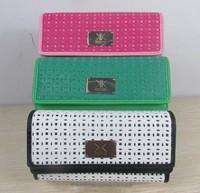 Kardashian kollection long  women's wallet kk clutch bags ells high-grade wallet  long design fashion women's wallet 10PCS/LOT