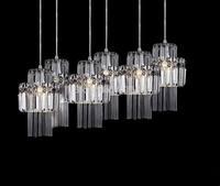Modern luxurious atmosphere Crystal Pendant Lights lamp bedroom lamp living room lamp restaurant hallway lights