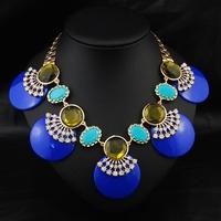 Aliexpress Wholesale 2014 New Brand Luxury Fashion Jewelry Women Accessories Exaggerate Collar Pendant Choker Statement Necklace