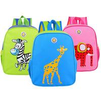 New Arrival Zoo Animal School bag Cute Cartoon Baby Bag Children's Backpacks Cute Kids Schoolbag Mochila Bolsas