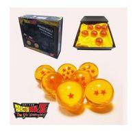 DragonBall Z Stars Crystal Ball Set of 7pcs New In Box