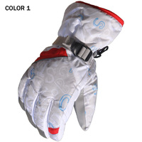 2014 new style ski gloves men and women's outdoor winter glove warming and windstop047