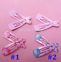 Wholesale girls Peppa pig Doll Metal hair Barrette Headhair clips hairgrips Christmas gifts accessories Hairpin Headwear RJ3037