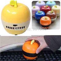2014 New Mini home Handheld vacuum cleaner desk cleaner Apple mini desktop dust collector Desktop Cleaner