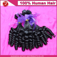 DHL Double Drawn 6A Ngierian Aunty Funmi Hair Unprocessed Peruvian Virgin Spiral Curls Human hair, Bouncy Curls 1pcs, 2pcs, 3pcs