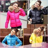 2014 New fashion high quality girls winter coat winter women coat winter Keep Warm duck down Casual Slim Winter Outwear