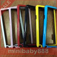 TPU soft Silicone + PC hard plastic case  cover luxury hybrid dual color Colorful  Samsung Galaxy Note4 N9100 N9109w N9108v