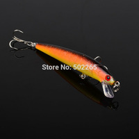 "1pc High Quality Fishing lure 0.279oz-7.91g/3.8""-9.65cm Fishaing bait 6# high carbon steel hook fishing tackle free shipping"