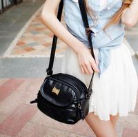 2015 Hot Style fashion stunning casual all-match tassel zipper small bags women's handbag shoulder bag messenger bag 2 Colors