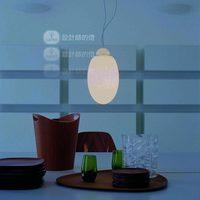 Designers of modern European living room lamp bedroom lamp creative bar restaurant single head ostrich egg art chandelier