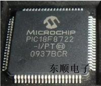 Free shipping ic chip PIC18F8722-I/PT TQFP-80 MIC