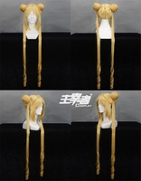Loose Cannon Jinx Blue 130cm Long Costume Cosplay Wig  Costume Cosplay Wig  COS no Lace Front Japanese synthetic fibre wigs