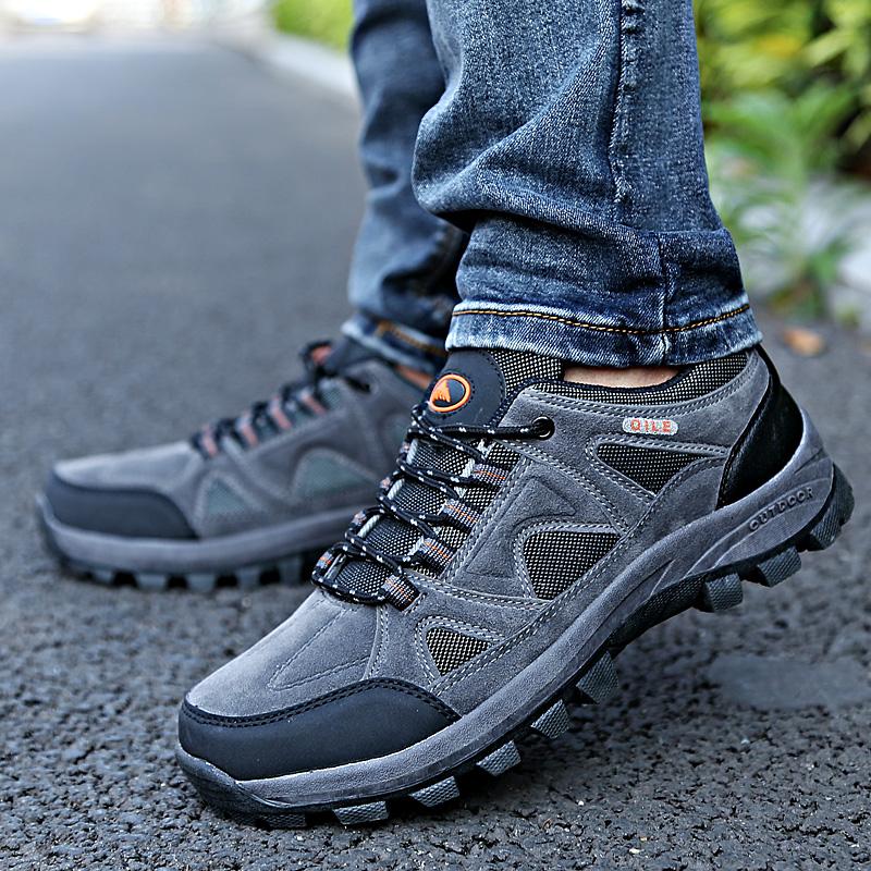 homens e mulheres, amantes de lazer ao ar livre antiderrapante caminhadas sapatos sapatos masculinos caminhadas sapatos de viagem desporto feminino escalada sapatos(China (Mainland))