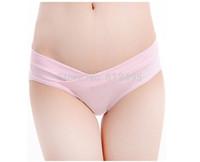U type low waist of pregnant women underwear briefs combed cotton panties
