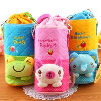 Rabbit cartoon cross-body bottle bag thermos bottle insulation bag kettle set