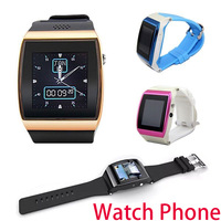 """Upro Bluetooth Smart Watch Phone 1.55"""" Capacitive Touch Screen 1.3MP Camera Anti Lost FM Wristwatch For iphone Android Phone New"""