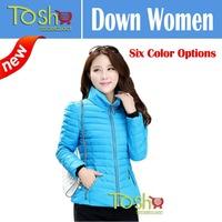2014 Brand New Women Cotton-padded Jacket Casual Winter Short Down Coat Plus Size Jacket Female Slim Jackets Free Shipping