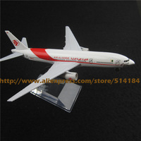 16cm Alloy Metal Air Algerie Airlines Airplane Model Boeing 777 B777 Airways Plane Model w Stand Aircarft Toy Gift