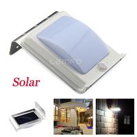 Outdoor 16 LED Solar Powered Motion Sensor Light Super Bright Waterproof Power Saving Lamp