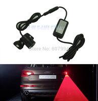 2014 Universal Laser Car Tail Light Safety Led Back Rear Warning Light Anti Fog Anti Collision Auto Rear LED Laser Fog Light