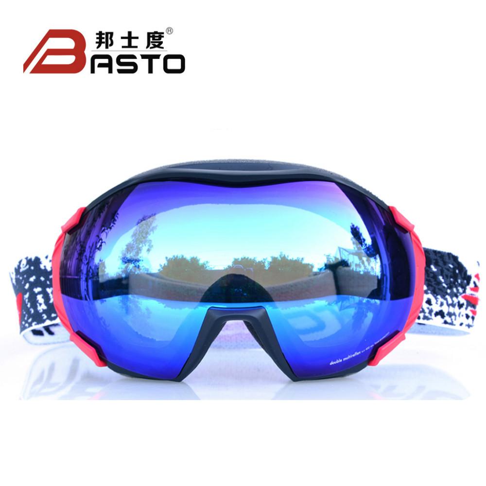 L'arrivée de nouveaux mode grosse lentille des lunettes de sport d'hiver, snowboard lunettes, lunettes de ski