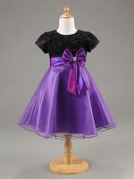 Retail selling! Cotton girl princess party dress dance dress, glitter clothes upper body    frozen girl child dress.