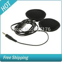 Motor Bike Earphone Speakers with Volume Controller