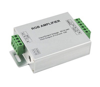 Free shipping 12V DC RGB Led 3channels Amplifier 12A output Amplifier Power Repeater for Rgb Strip