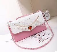 Handbags 2014 new Korean fashion wave packet retractable shoulder bag ladies handbag retro