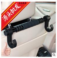 The car long hook back big hook lengthen vehicle multifunctional vehicle hanger hook placing double hook